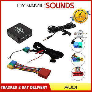 Bluetooth Music Streaming Handsfree car kit AUX USB MP3 iPhone for Audi A6 98-04