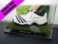 ✺Signed✺ BRIAN LARA Cricket Shoe PROOF COA West Indies 2020 Shirt Jersey