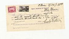 Colonie Italiane, 75 cent. Somalia + 5 cent Eritrea applicati come uso bollo