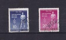 Alemania Oriental 1955 conjunto de día internacional de liberación VFU SGE207-8