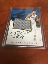 2016/17 Panini Immaculate DEVIN HARRIS Premium Patch Auto SSP 33/35