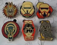 SOLO A Star Wars Story Booster Pack Disney Pin Make a Set Lot