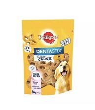 Pedigree Dentastix Chewy Chunx Maxi Medium Large Dog Treats Chicken 68g