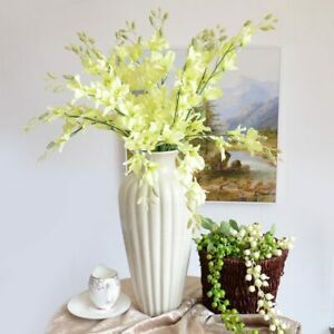 Artificial Orchid Flower Fake Flower Artificial Bouquet Wedding Party Home Decor