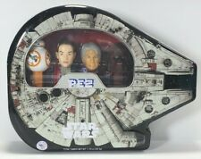 SALE! Star Wars PEZ Millennium Falcon Collector Tin with BB-8, Rey, Solo & Chewy