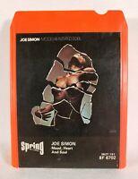 Joe Simon - Mood, Heart and Soul (1974 Spring Stereo 8-Track Tape Cartridge)