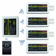 WiFi+4x Dual White LED Controller -RF 2.4G Phone Color Temperature Adjust Dimmer