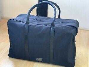 🆕Mens HUGO BOSS Weekend Holdall Gym Travel Bag Black NEW!!!