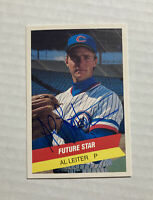 Signed AL LEITER Rookie Card Autographed NY Yankees Columbus Clippers RC w/COA