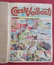 COEURS VAILLANTS RELIURE AMATEUR 1949  N°24 A N° 52 TBE+   28 NUMEROS