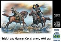 Masterbox 1:35 - British and German Cavalrymen WWI MS35184