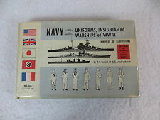 W.H. Tantum IV & E.J. Hoffschmidt  NAVY  Uniforms, Insignia and Warships of WWII