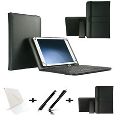 "3 IN 1 SET 10.1"" Qwerty Keyboard Case For Samsung Galaxy Note (2014) - Black"