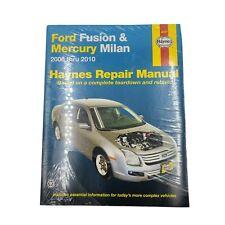 Repair Manuals Literature For Mercury Milan For Sale Ebay