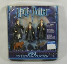 Harry Potter, Ron, & Hermione Mini Collection Action Figures Vtg 2003 New