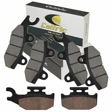 FRONT REAR BRAKE PADS FIT YAMAHA RHINO 660 YXR660 4X4 2004-2007