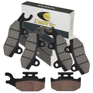 Cyleto Front Brake Pads for Yamaha YXR660 Rhino 660 4x4 2004 2005 2006 2007
