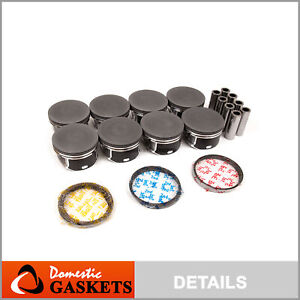 Fit for 03-06 Dodge Ram Chrysler Jeep 5.7L HEMI OHV Pistons & Rings Set