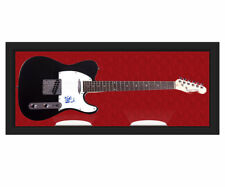Nokie Edwards Signed Telecaster Guitar Display Case UACC RD AFTAL RACC TS