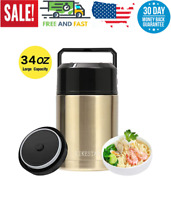 Eco Friendly Insulated Food Stainless Steel Meal Soup Storage Container Thermos