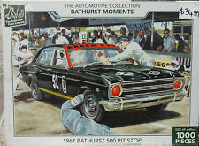 The Automotive Collection Bathurst Moments 1967 Bathurst Pit Stop Puzzle 1000pcs