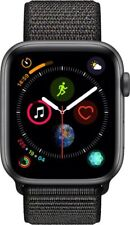 #cybersale New Apple Watch Series 4 44mm Space Gray Alum Black Loop Agsbeagle