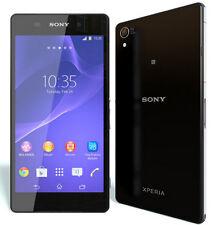 "New Unlocked Sony Xperia Z2 D6503 16GB 5.2"" 20MP GPS NFC 4G LTE Smartphone Black"