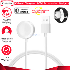 For Apple Watch iWatch 5 4  2 1 Magnetic Charger Charging Cable Fast  White  AU