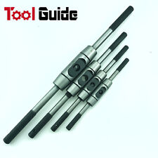 4pc M1-M16 Heavy Duty Solid Steel Tap Wrench Extra Long Tapping Handle Taps Set