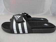adidas Adissage Slides Sandals Mens UK 12 US 12 EUR 47.1/3  ^