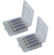 Panasonic Batería eneloop AAA 8 Piezas+Caja protección BK-4MCC+ caja And