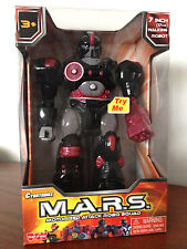 Mars  Cybotronix  Motorized Attack Robo Squad Walking Robot XSS model