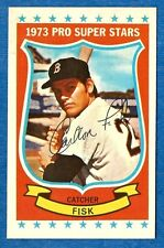 1973 Kellogg's CARLTON FISK  (ex-mt) Boston Red Sox