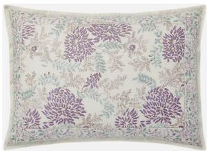 RALPH LAUREN Alessandra Ardsley Floral KING Pillow Sham Purple Multi Nwot