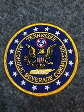 Tennessee Alcoholic Beverage Commission police patch TABC TN