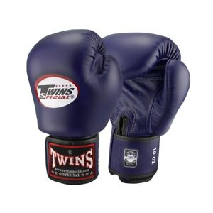 TWINS SPECIAL BOXING GLOVES (BGVL-3) Nevy Blue