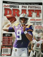 Lindy's Sports Pro Football  Draft Preview 20 Joe Burrow LSU Tigers Bengals - A
