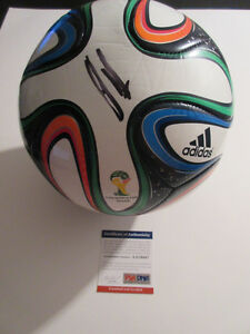 CLINT DEMPSEY SIGNED 2014 WORLD CUP SOCCER BALL PSA/DNA AA19447 USA SOCCER USMNT