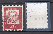 BRD 1961 Mi. Nr. 352 y R Gestempelt Rollmarke mit Nr. TOP!!! (20076)