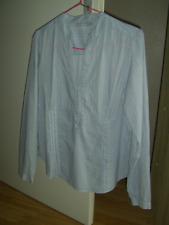 chemisier / blouse bleu et blanc rayé taille 44