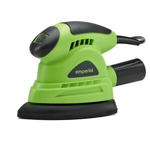 Emperial 130W Electric Detail Palm Sander Hand Power Tool Dust Extraction