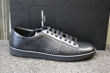 NIB AUTHENTIC YSL SAINT LAURENT PARIS FASHION SNEAKERS Flat TENNIS Shoes 39