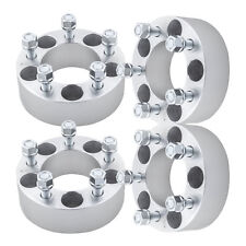 """4pc 2"""" Thick 5x4.5 to 5x4.5 Wheel Spacers 1/2 for 1994-2017 Ford Mustang"""