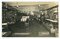RPPC Interior Gardners Clothing Store General Store SODUS NY Real Photo Postcard