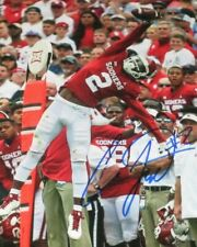 CeeDee Lamb SIGNED AUTOGRAPHED OKLAHOMA SOONERS 8X10 PHOTO THE CATCH reprint