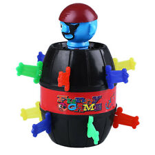 Lucky Pop Up Pirate Barrel Game Kids Children Jokes Tricky Toy Gadget Coin Bank