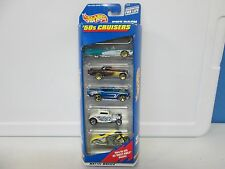 Hot Wheels 5 Pack '50s Cruisers w/1957 Chevy and T-Bird (262)
