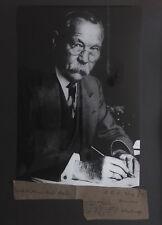 Genuine ARTHUR CONAN DOYLE signed AUTOGRAPH 1910 Sherlock Holmes