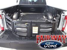 Ford 17 thru 19 F-250 F-350 OEM Genuine  Carbon Black Locking Bed Cleats Set
