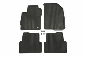 2012-2014 Chevrolet Sonic Front and Rear All Weather Black Mats OEM GM 95918878